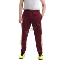 CELANA TRAINING PANJANG Celana Training Panjang Poly Stripe Gold 95D9 Maroon