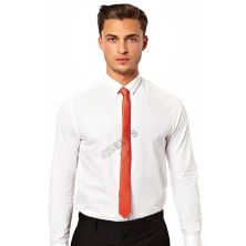 DASI SLIM Dasi Slim Formal Casual Orange Tua